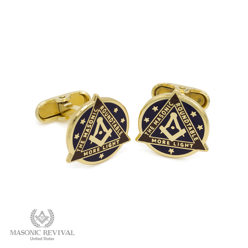 The Masonic Roundtable Cufflinks