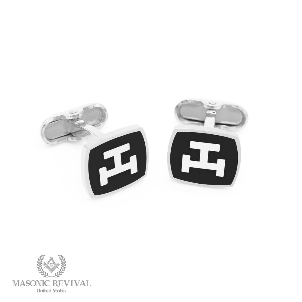 Royal Arch Cufflinks // Black