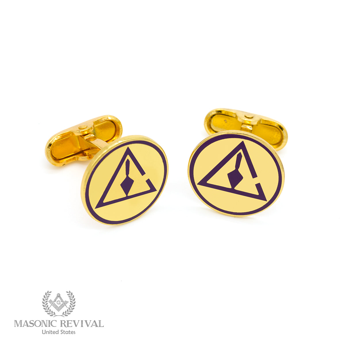 Cryptic York Rite Cufflinks