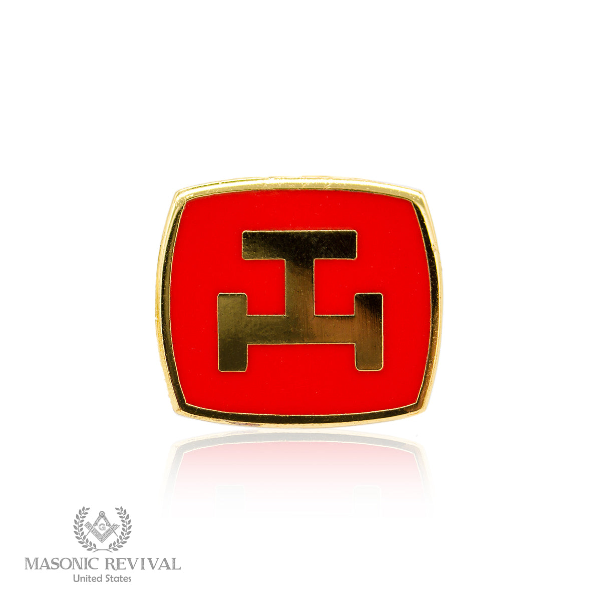 Royal Arch Lapel Pin (Red)