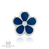 Forget Me Not Lapel Pin (Silver)