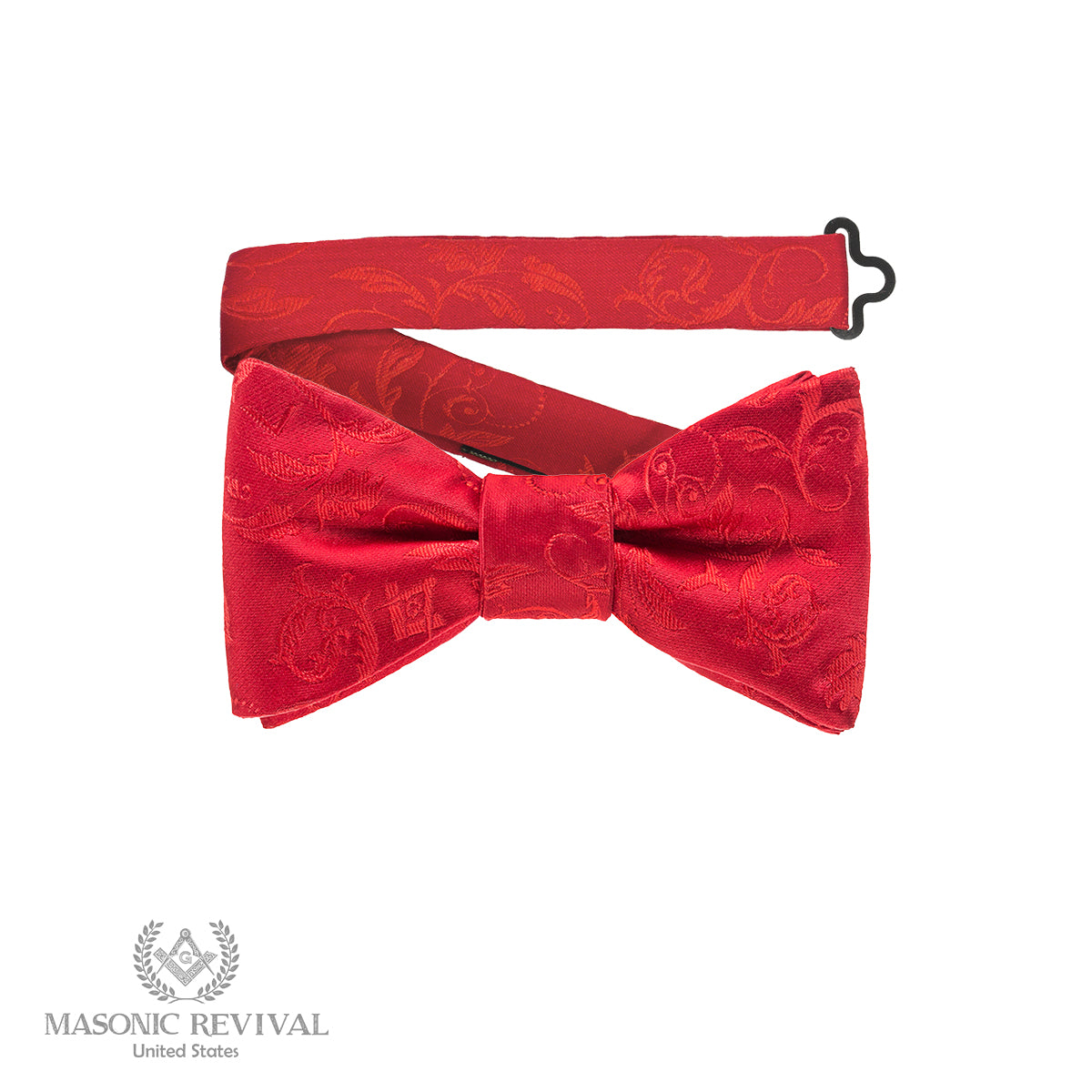 Noche Cryptica Bow Tie by Masonic Revival Cryptic Standard Self-Tied