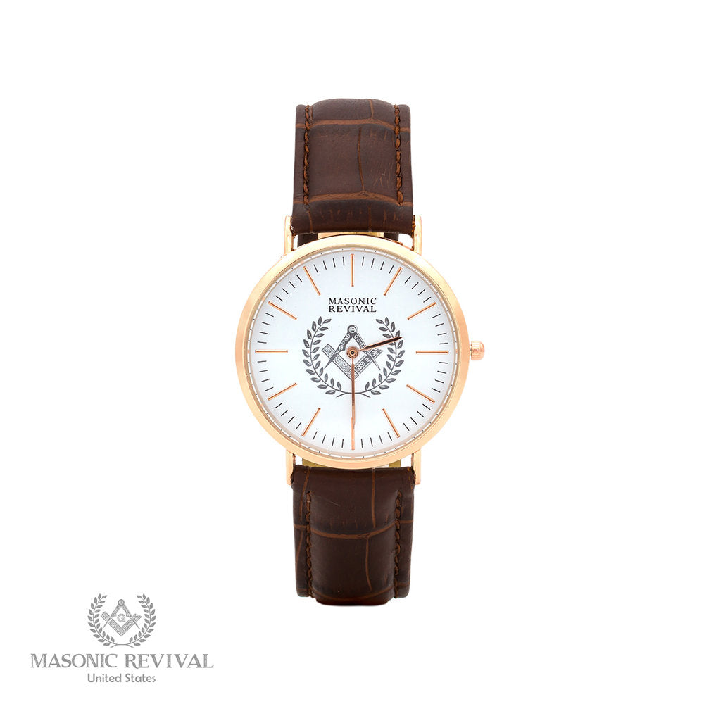 The Regal Masonic Watch // Brown