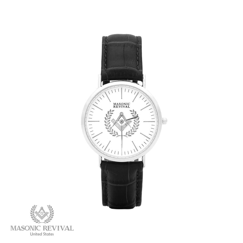 The Regal Masonic Watch // Black