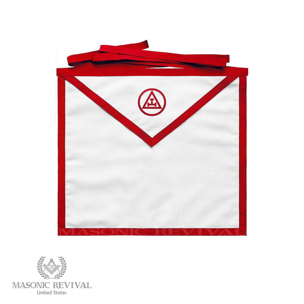 York Rite Chapter Member Apron