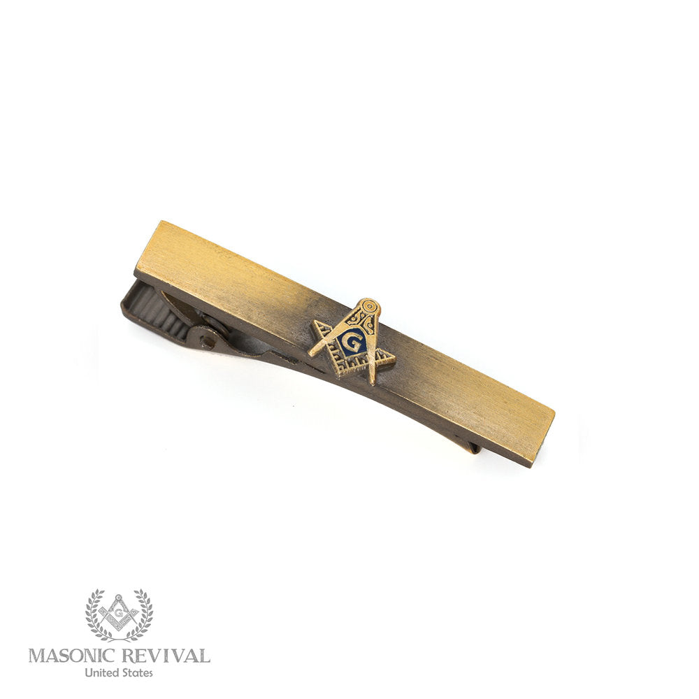 La Mosquita Tie Bar // Antique Gold