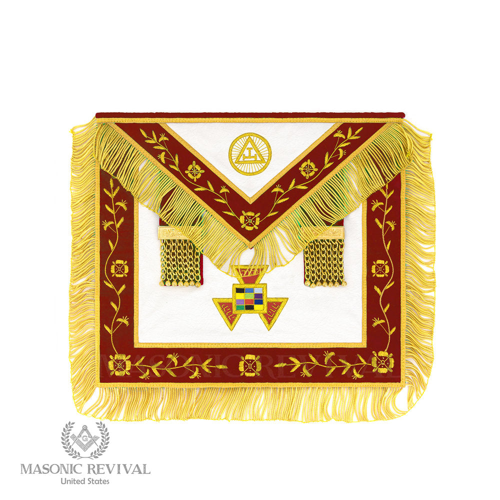 Past High Priest Apron (Signature)