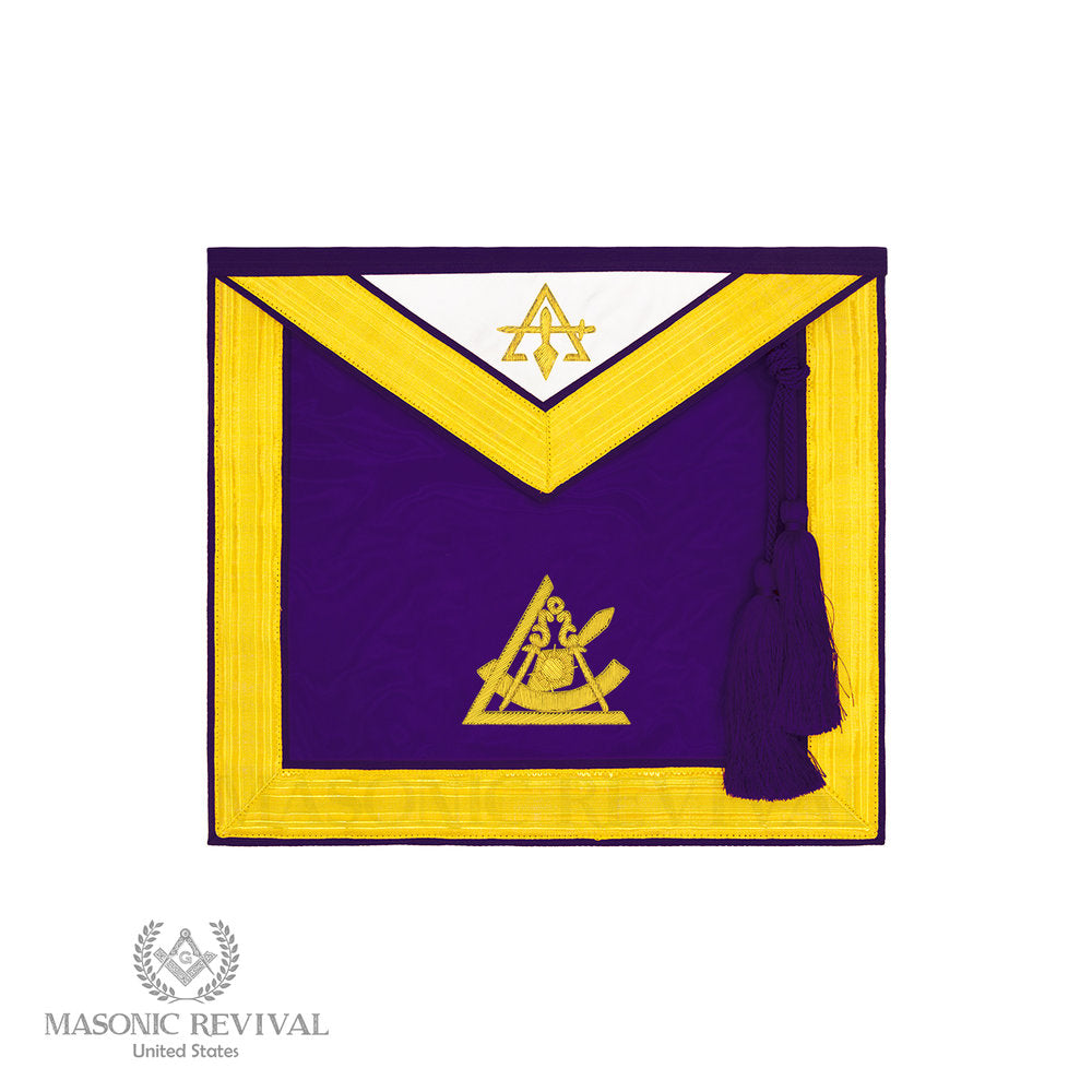 Past Illustrious Master Apron (Bullion)