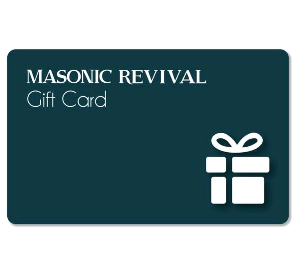 Masonic Revival Gift Card