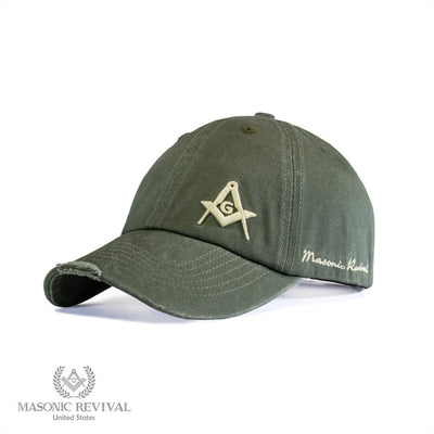 Unstructured Cap (Green)