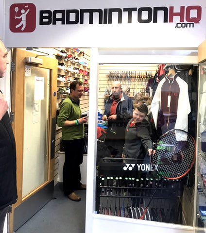 Badminton HQ Shop Front