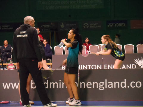 Nigel Tier Badminton Coach and Former Player