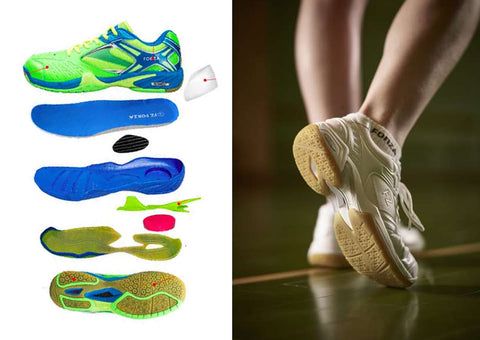 Badminton Shoes Breakdown