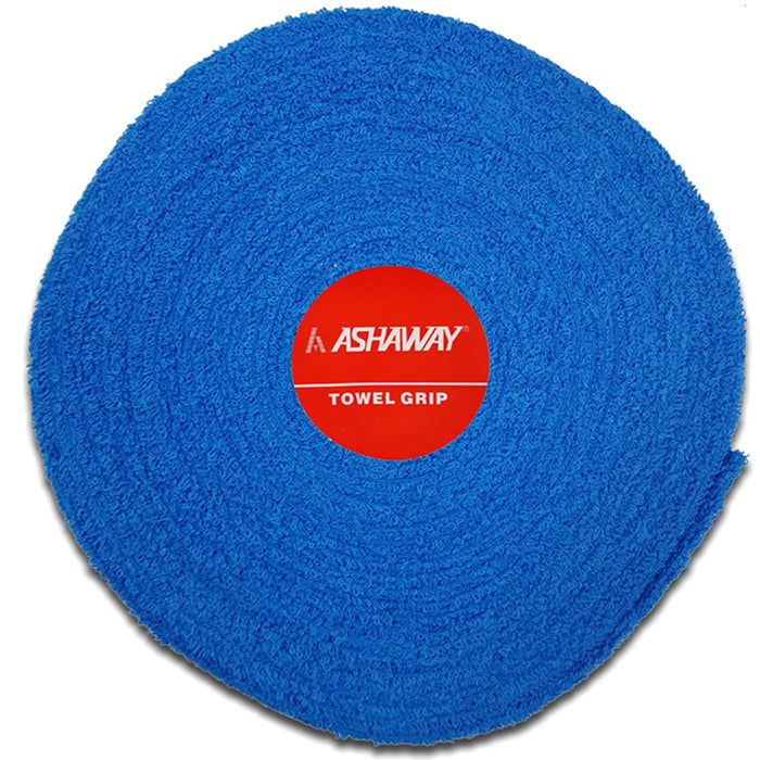 Ashaway Badminton Towel Grip Roll - Blue - 10m