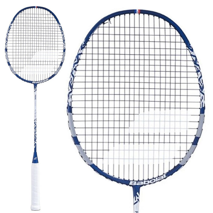 Babolat Prime Power Badminton Racket - Grey Blue