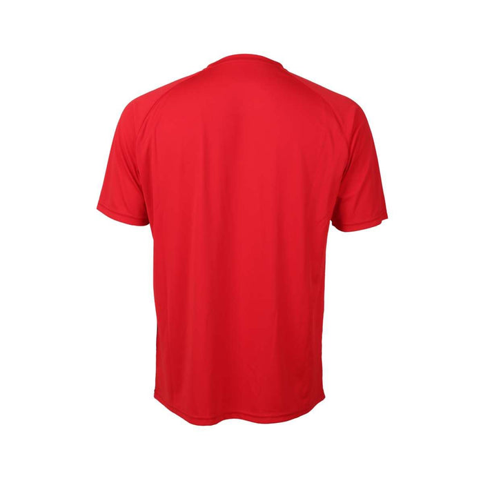 FZ Forza Balkan Red Boys / Mens  Badminton T-Shirt