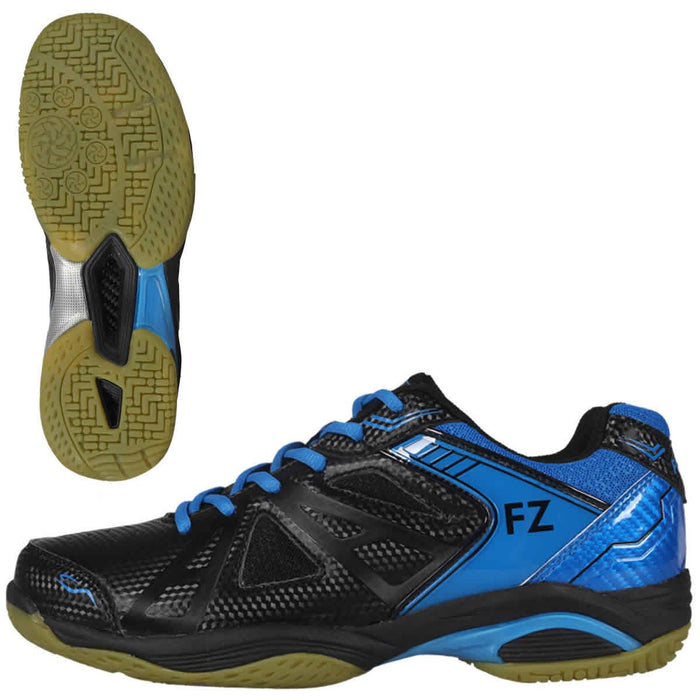 FZ Forza Extremely Mens Badminton Shoes - Black Blue