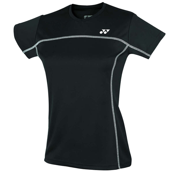 Yonex YTL1 Black Team Ladies / Womens Badminton T-Shirt