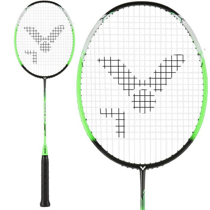 Victor Thruster K 330 Badminton Racket - Green Black