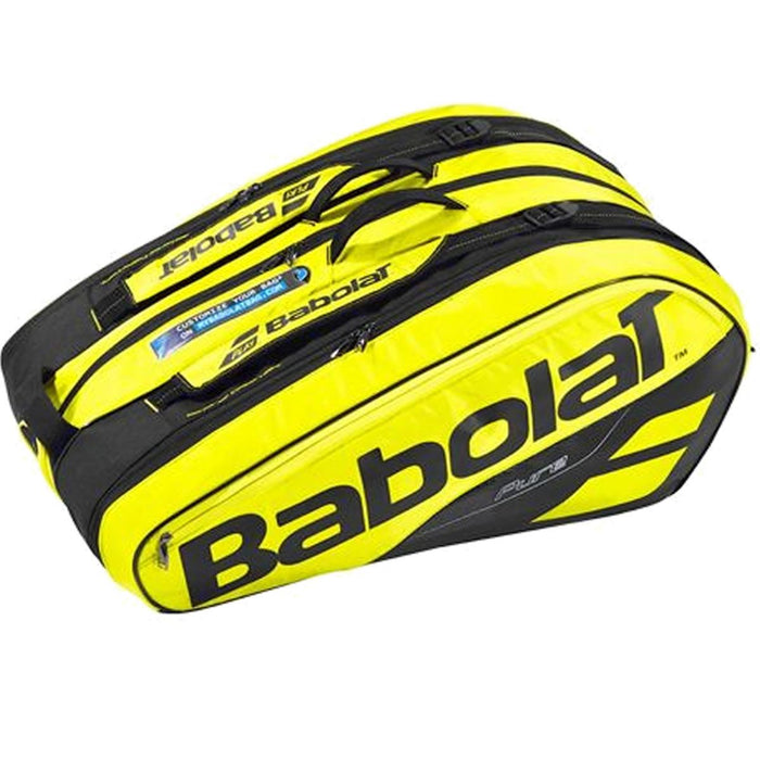 Babolat Pure Line Badminton Racket Holder x12 - Yellow/Black