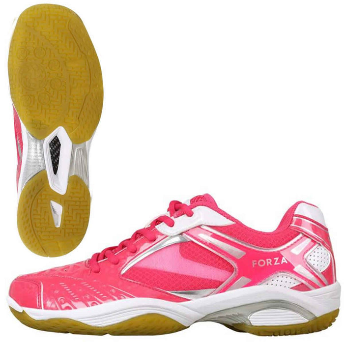 FZ Forza Lingus V4 Pink Womens Badminton Shoes