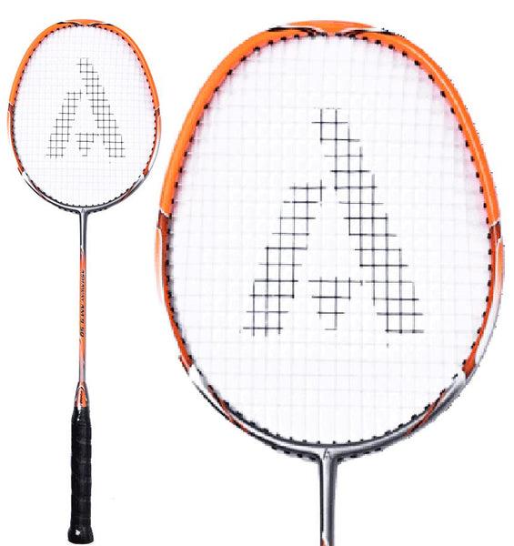 Ashaway AM 9SQ Badminton Racket - Orange Silver