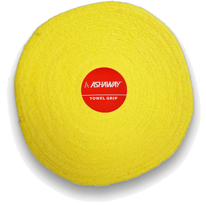 Ashaway Badminton Towel Grip Roll - Yellow - 10m