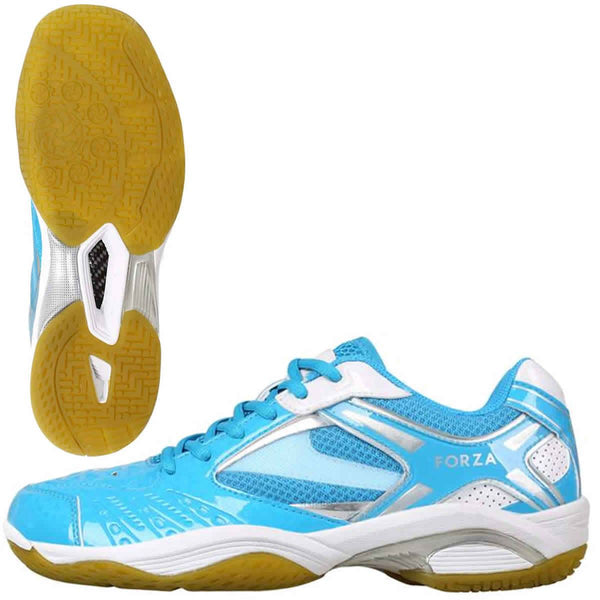 FZ Forza Lingus V4 Blue Badminton Shoes