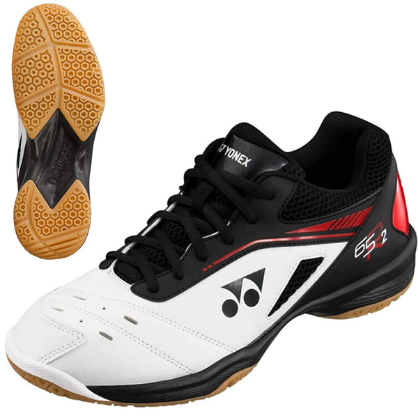 Yonex Power Cushion 65R2 Badminton Shoes - White / Black