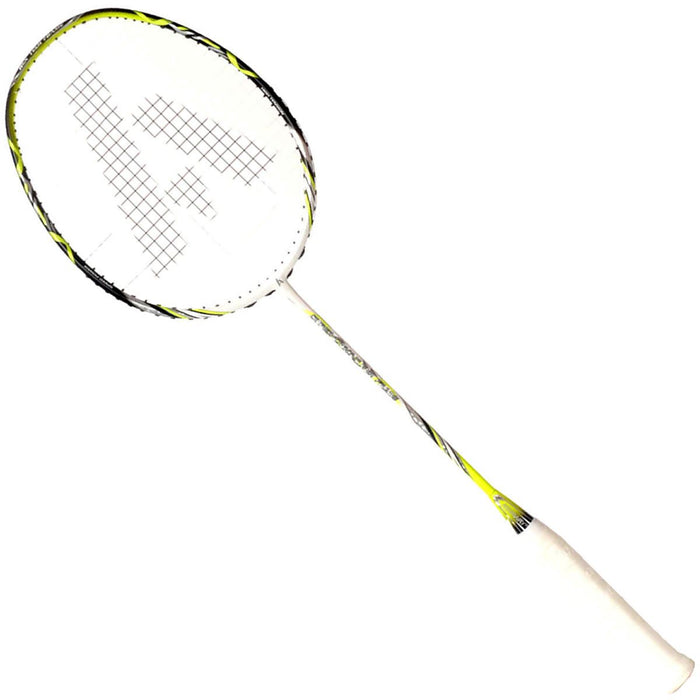 Ashaway Superlight 10 Hex Badminton Racket - White Green