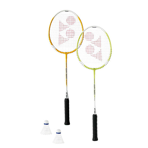 Yonex GR505 Badminton Racket Set - Orange Yellow