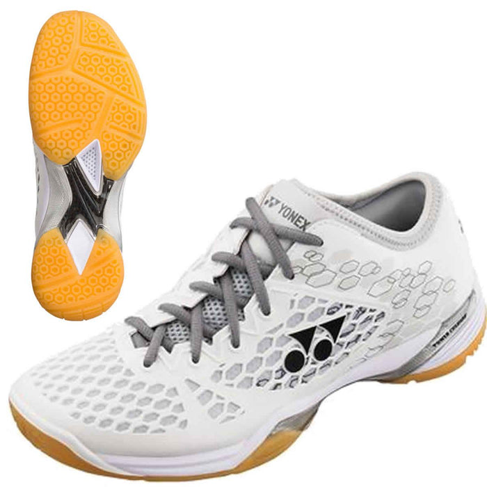 Yonex Power Cushion SHB 03 Z Men Badminton Shoes - White