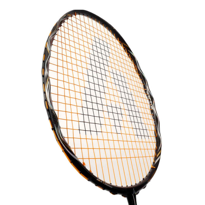 Ashaway Phantom Helix Badminton Racket - Black Gold