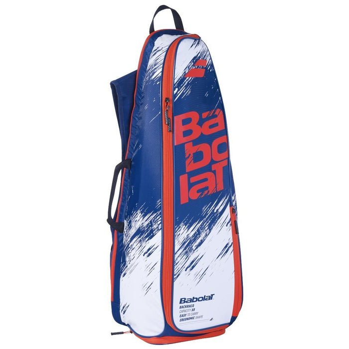 Babolat Backracq Badminton Bag - Navy Blue/White