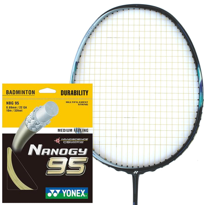 Yonex Nanogy 95 Badminton String Gold - 0.69mm 10m Packet
