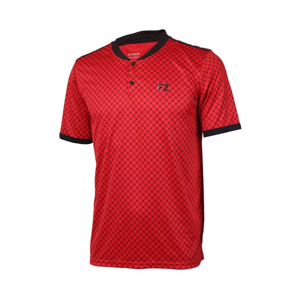 FZ Forza Bronx Chinese Red Badminton T-Shirt