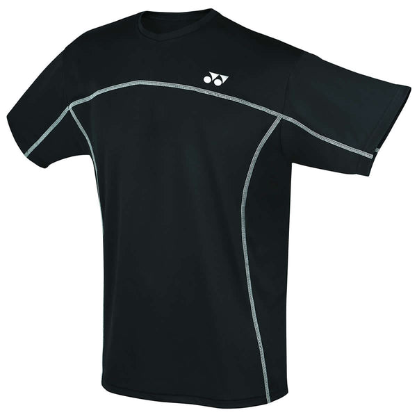 Yonex YTM1 YTJ1 Black Team Mens / Junior Badminton T-Shirt