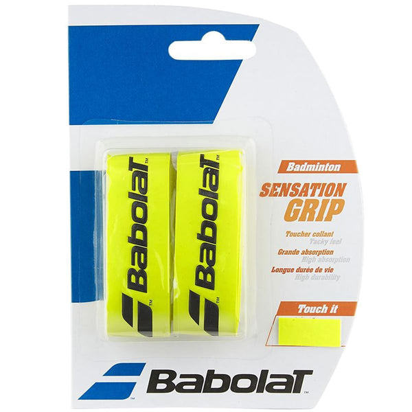 Babolat Badminton Grip Sensation - Yellow - 2 Pack