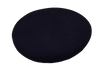DARK GREY WOOL/CASHMERE / EXTRA SMALL FABRIC PEBBLE SEAT