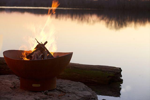 TIDAL FIRE PIT WOOD BURNING