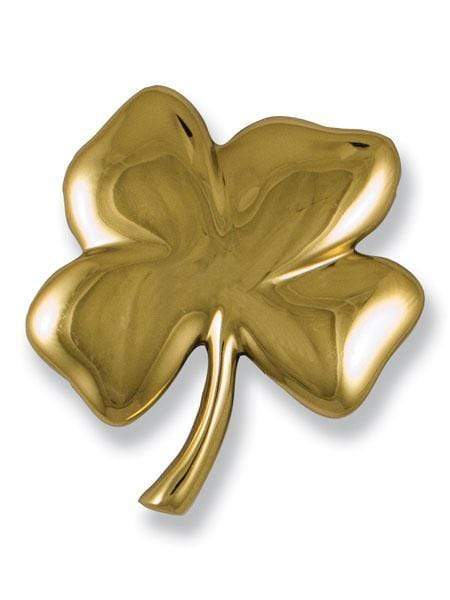 FOUR-LEAF CLOVER DOOR KNOCKER (BRASS)