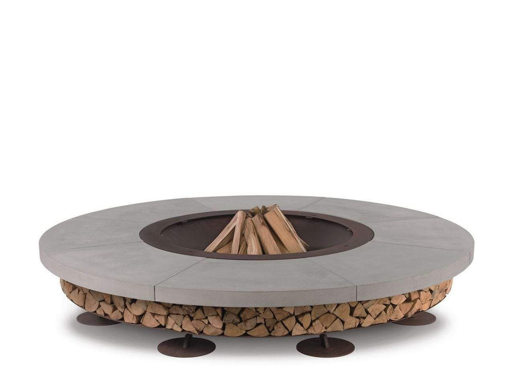 None / WHITE HERCULES FIRE PIT