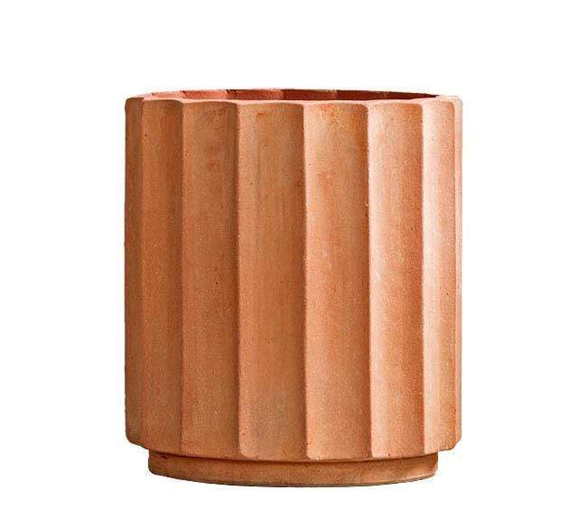 ITALIAN TERRACOTTA (COLUMN POT)