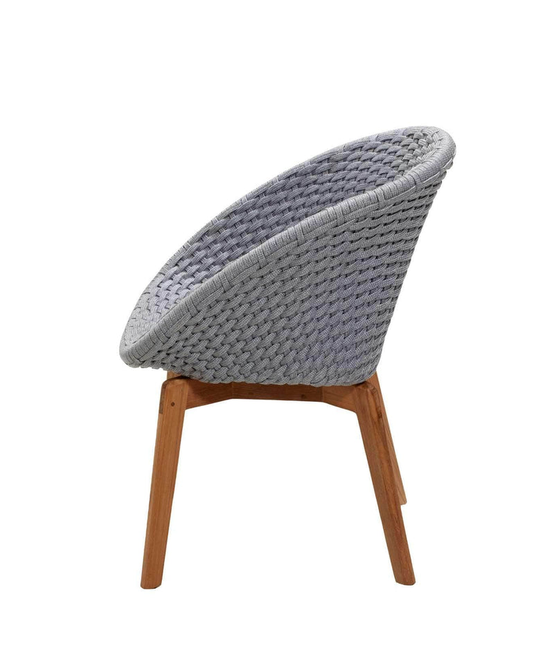PEACOCK SOFT ROPE DINING CHAIR
