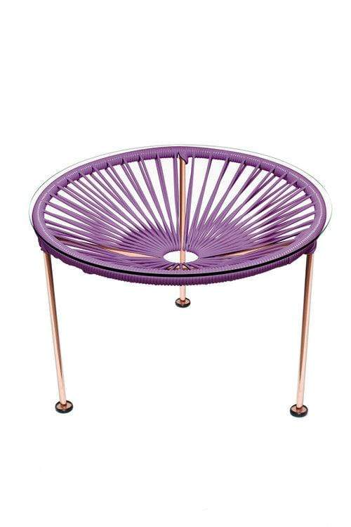 Orchid / Copper SOL PATIO SIDE TABLE