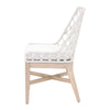 WOVEN LATTIS OUTDOOR DINING CHAIR (SET OF 2)
