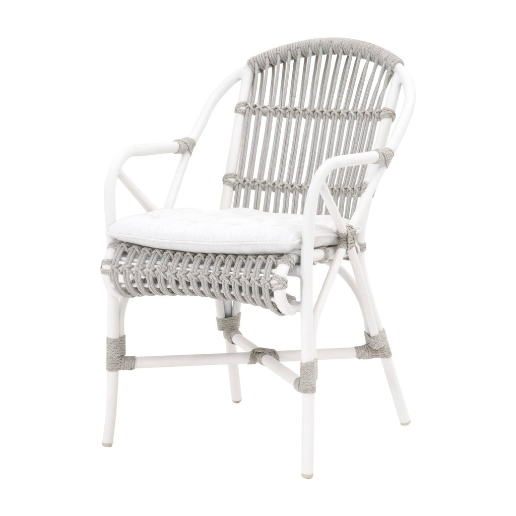 WOVEN LIDO OUTDOOR ARM CHAIR