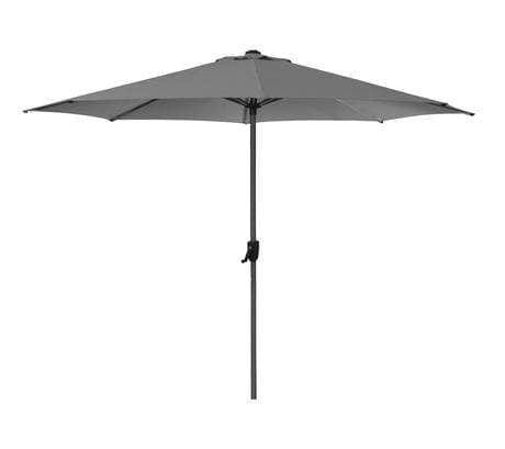 SUNSHADE PARASOL WITH CRANK