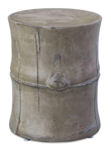 Slate Grey PERPETUAL BAMBOO STOOL/ACCENT TABLE