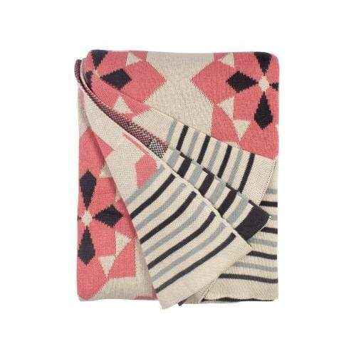 PINK ELLESMERE THROW